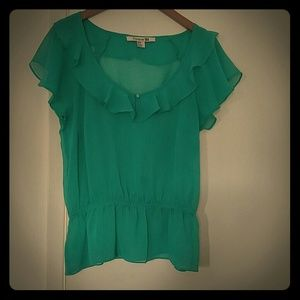 Forever 21 Teal /Green Top